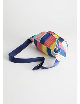 Striped Fanny Pack by & Other Stories