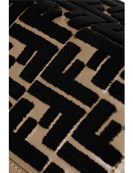 Flocked Leather I Phone X Case by Fendi