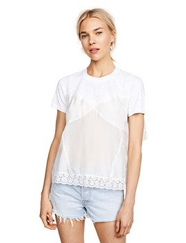 Whitley Lace Cami Tee by Sea