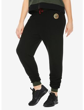 Her Universe Destination Disney Mulan Scrunch Jogger Pants Plus Size by Hot Topic