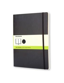 Moleskine Blank Journal Extra Large   Black Softcover by Moleskine