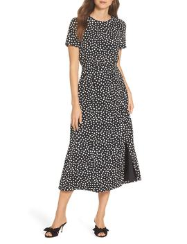 Print Midi Dress by Maggy London