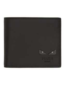 Black 'i See You' Wallet by Fendi