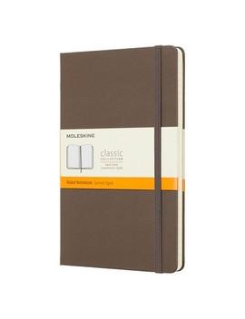 Moleskine Lined Journal Large   Brown Hardcover by Moleskine