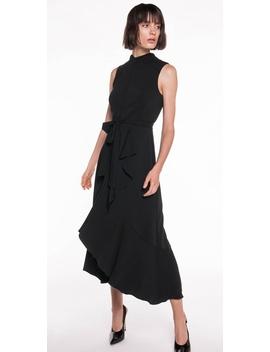 Drapey Longline Frill Dress by Cue
