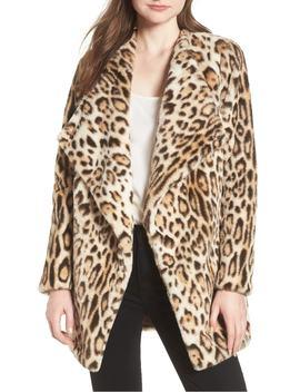 Leopard Faux Fur Jacket by Bb Dakota