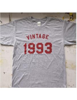 Vintage 1993 Printed Tshirts Women Summer Top Shirt Plus Size Funny Tshirt Harajuku Clothes Tumblr New  Camiseta Feminina by Junlee