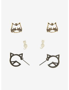 Cat Earring Set by Hot Topic