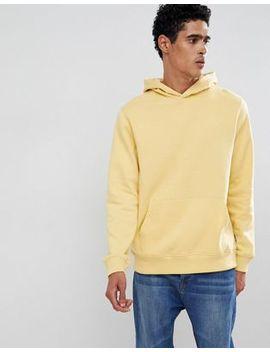Burton Menswear – Gelber Kapuzenpullover Mit Tasche by Burton Menswear London
