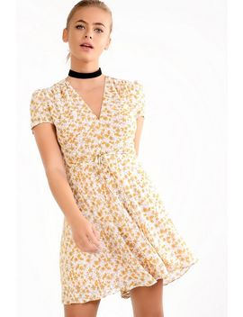 **Floral Tea Dress By Glamorous Petites by Topshop