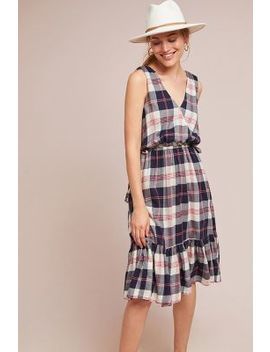 Dickens Plaid Dress by Trovata