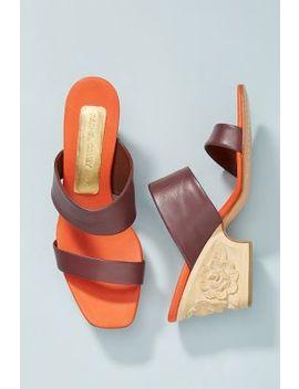 Rachel Comey Heir Wooden Heels by Rachel Comey