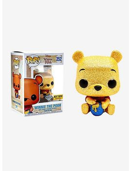 Funko Disney Diamond Collection Winnie The Pooh Pop! Winnie The Pooh Vinyl Figure Hot Topic Exclusive by Hot Topic