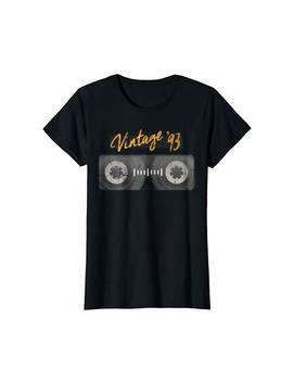 Born In 1993 Casette Shirt 90s Shirt Birthday Shirt by Shoppzee Happy Birthday Shirt