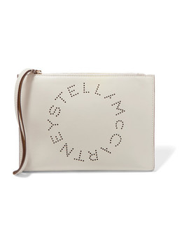 Perforated Faux Leather Pouch by Stella Mc Cartney