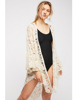 Move Over Lace Robe by Free People