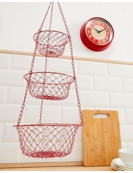 Temerity Jones Wire Basket Storage by Temerity Jones