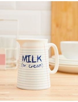 Temerity Jones Milk Jug by Temerity Jones