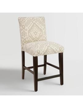 Dove Safi Kerri Upholstered Counter Stool by World Market