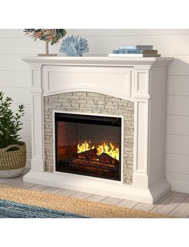 Beachcrest Home Cameron Infrared Electric Fireplace & Reviews by Beachcrest Home