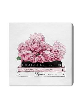Roses & Elegance Canvas Wall Art by Oliver Gal
