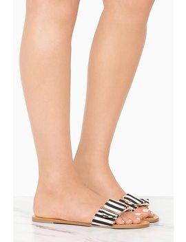 Fiji   Black Stripe by Lola Shoetique