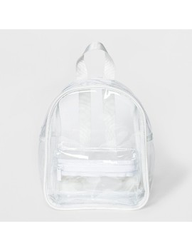 Zip Closure Mini Backpack Handbag   Mossimo Supply Co.™ White by Mossimo Supply Co.