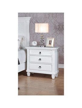 Merivale Nightstand, White by Acme Furniture