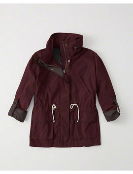 Nylon Anorak by Abercrombie & Fitch