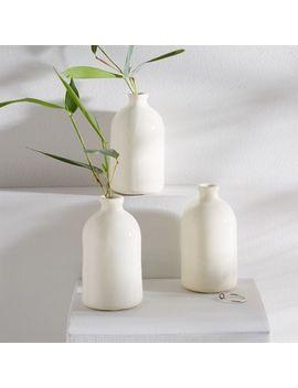 Honeycomb Studio Bud Vases by West Elm