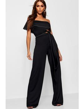 Contrast Stitch Co Ord by Boohoo