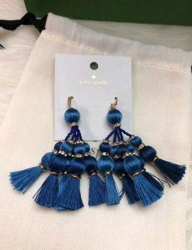 Kate Spade Blue Tassel Earrings Dangling by Kate Spade New York