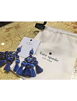 New Kate Spade | Pretty Poms Tassel Statement Earrings | Retails $78 | Sold Out by Kate Spade New York