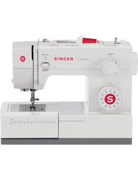 Singer 44 S Classic Heavy Duty Sewing Machine With 23 Built In Stitches , 60 Percents Stronger Motor & Automatic Needle Threader, Perfect For Sewing All Types Of Fabrics With Ease by Singer