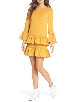 Flounce Hem Shift Dress by Chelsea28