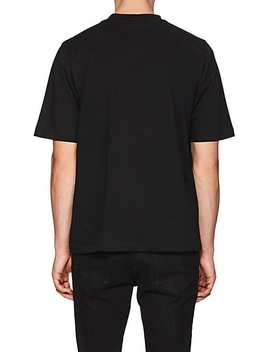 Puppy Print Cotton T Shirt by Helmut Lang Seen By Shayne Oliver
