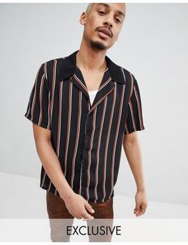 Milk It Revere Shirt In Stripe by Milk It