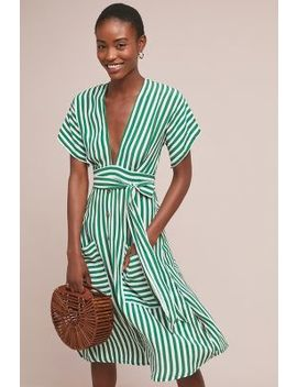Faithfull Nancy Striped Shirtdress by Faithfull