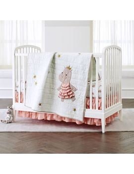 Royal Hippo Crib Bedding by Crate&Barrel