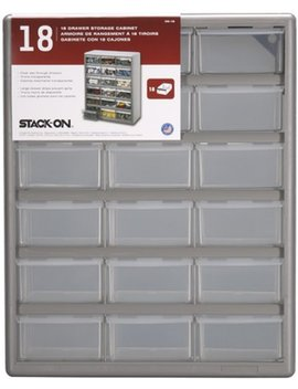 Stack On Ds 18 18 Drawer Storage Cabinet by Stack On
