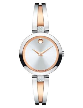 Aleena Diamond Bangle Watch, 27mm by Movado