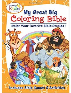 My Great Big Coloring Bible With Activities by Amazon