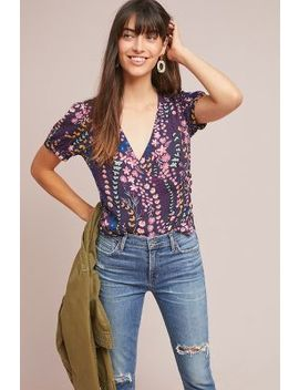 Eldoret Wrap Top by Meadow Rue