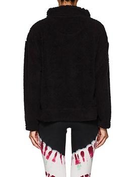 Plush Fleece Half Zip Sweatshirt by Electric & Rose