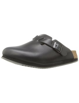 Birkenstock Unisex Professional Boston Super Grip Leather Slip Resistant Work Shoe by Birkenstock