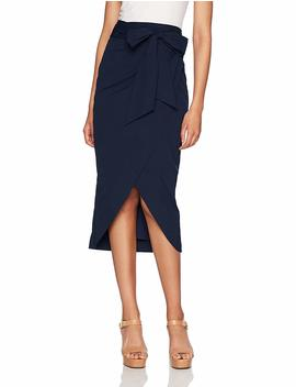 Milly Women's Wrap Pencil Skirt by Milly