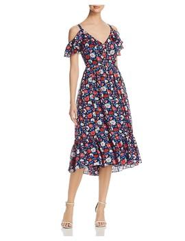 Daisy Print Silk Midi Dress by Kate Spade New York