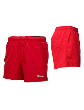 New Champion Mens Swim Shorts Sz M L Xl Red Green  Swimming Beach Holiday by Ebay Seller