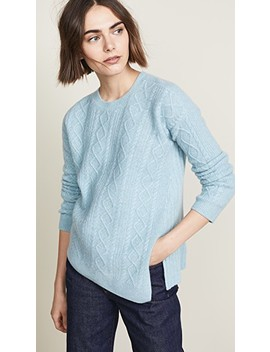Cable Rib Sweater by Pringle Of Scotland