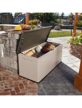 Lifetime 130 Gallon Deck Box, 60012 by Lifetime